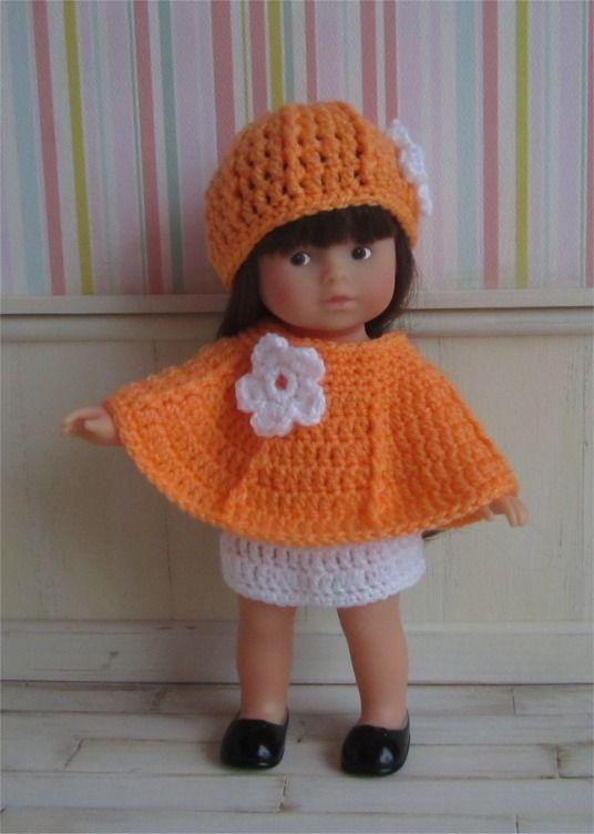 """111- FICHE PATRON CROCHET Tenue """"Perce neige"""" pour poupée mini corolline : Jeux, jouets par atelier-crochet"""