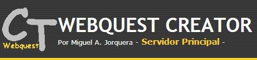 Con Webquest Creator podrás crear fácilmente tu webquest-miniwebquest-caza del tesoro paso por paso, pudiendo posteriormente editar cada parte sin dificultad. La webquest quedará alojada en el servidor y será accesible (después de hacerla pública) desde el menú Webquest.