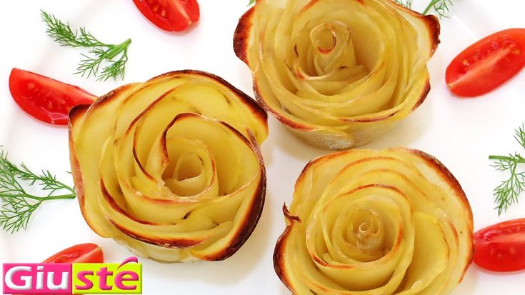 Comment faire des roses en pommes de terre