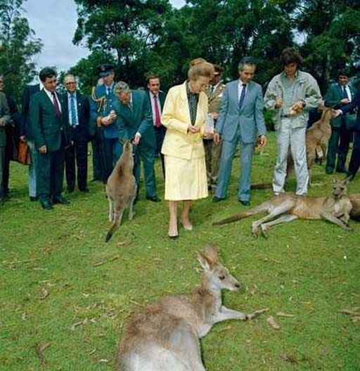 Nicolae and wife Elena Ceausescu in Australia