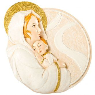 Round painting Maternity 10cm | online sales on HOLYART.co.uk