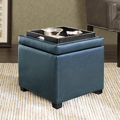 Regency Heights Maddox Small Cube Storage Ottoman