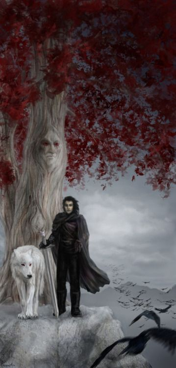 John Snow - Ghost - Tree