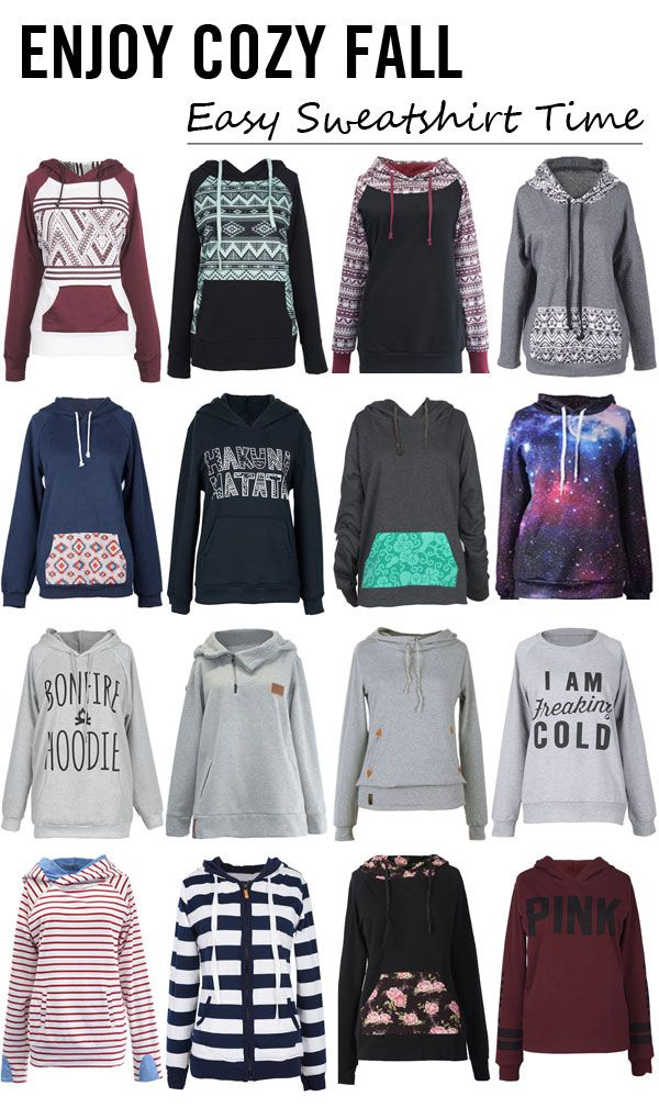 Start from $10.99! I really want to share something new with my friends. Awesome! This sweatshirt is the perfect lightweight addition to my fall outfit!. Check out more at Cupshe.com !