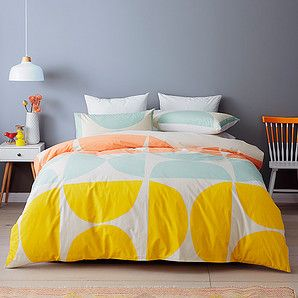 Our Morris quilt cover set brings a stylish new look and feel to your bedding. Made from a soft, comfy cotton fabric and finished with a trendy,...