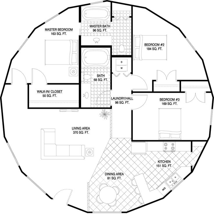 17 Best Ideas About Round House Plans On Pinterest Round