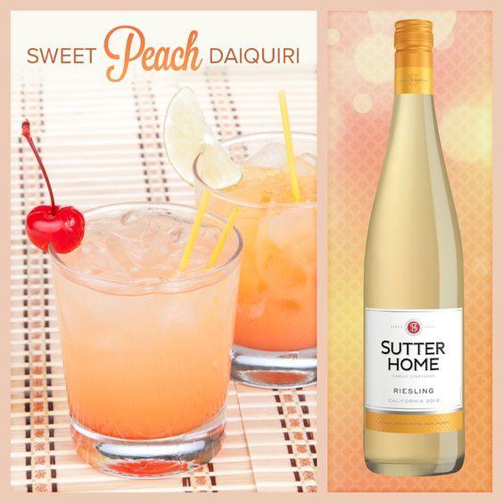 Sutter Home Wine Cocktail - Sweet Peach Daiquiri | Sutter Home