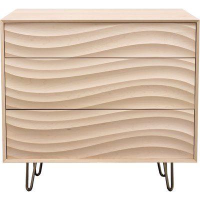 Copeland Furniture Wave 3 Drawer Dresser - http://delanico.com/dressers/copeland-furniture-wave-3-drawer-dresser-736916963/