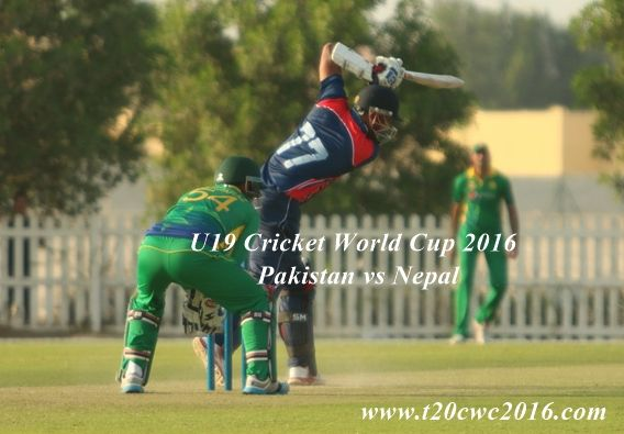 U19 Cricket World Cup Pakistan vs Nepal Live Streaming: The under-19 world cup 2016 has came to the last stage of league matches. The matches gonna be interesting now as each cricket team will fight for the match points to reach to the next level of this tournament. Today, one of the exciting ODI match …