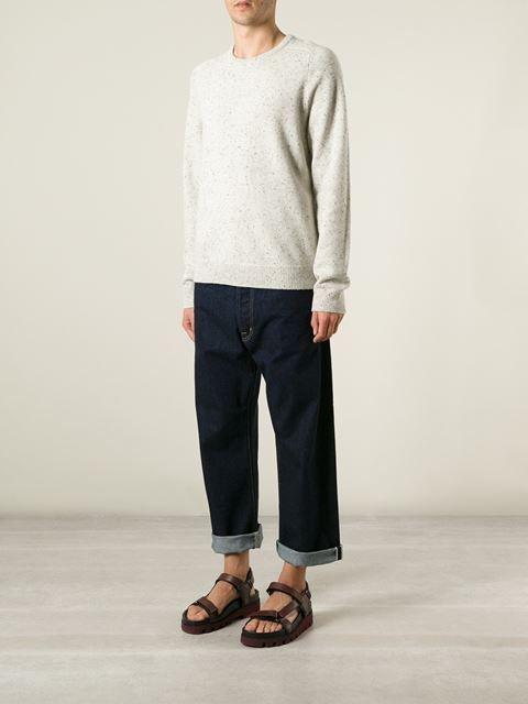 Ganryu Comme Des Garcons Jeans Con Cintura En Contraste - Societe Anonyme - Farfetch.com