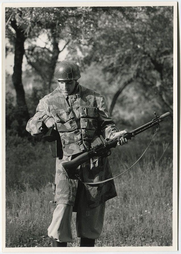 WEHRMACHT soldier (air force) Fallschirmjäger