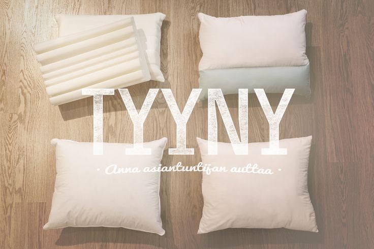 Oikein valittu tyyny parantaa oleellisesti nukkuma-asentoa – ja siten suoraan myös yöunesi laatua. Hyvä tyyny estää lihasjännitystä tukemalla niskaa ja antamalle päälle rennon, luonnollisen asennon. #habitare2015 #design #sisustus #messut #helsinki #messukeskus