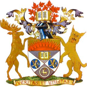 University of Western Ontario Coat of Arms