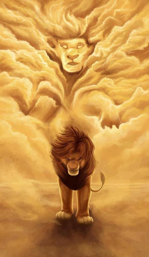 El Rey León #Ilustración