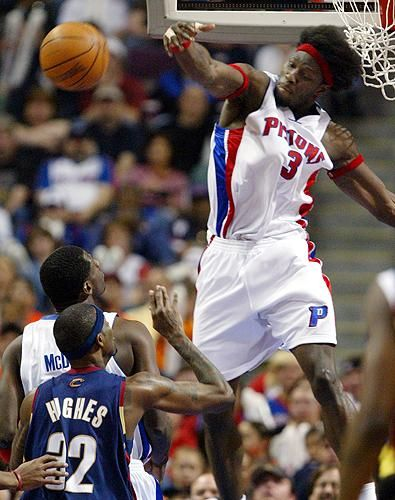 Ben Wallace (C) - Detroit Pistons