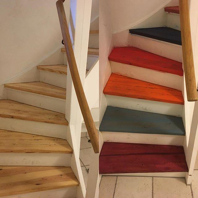 the wonderful oil colors from #berger_seidle #1868dk #wood #gulvslibning #woodenfloors #woodenfloring #bergerseidle #floorsander #woodwork #floor #sanding #hardwood #trægulv #trægulve #gulvrenovering #renovering #legno #holz #golv #golvslipning #golvläggning #festool #cmvdk #madera  #piso #trappe #staircase