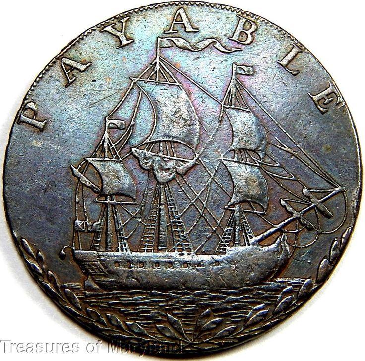 39 best Sailing Ship Coins images on Pinterest | Sailing ...