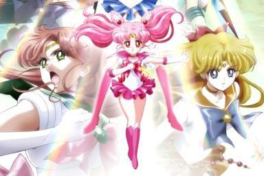 Pretty Guardian Sailor Moon Crystal Season 2 featuring Sailor Mini Moon - Naoko Takeuchi / PNP / Kodansha / Toei Animation