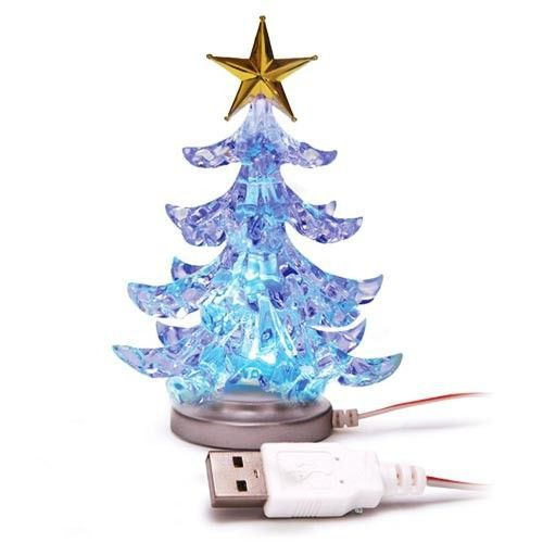 Lichtgevende kerstboom USB (10cm) #usbkerstboom #kerstboom #kleinekerstboom