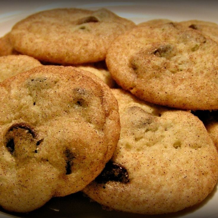 Ghiradelli Chocolate Chip Snickerdoodles! Recipe | Just A Pinch Recipes