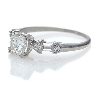 1950s engagement ring, Engagement rings and Shopping on ... - photo #12