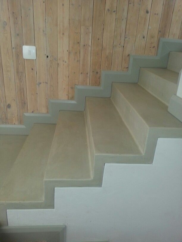 Floor Hardener For Stair : Colour hardener cement screeded floors with