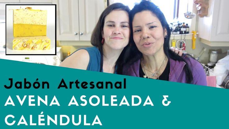 Avena Asoleada & Calendula Jabón Artesanal Procesado en Frío