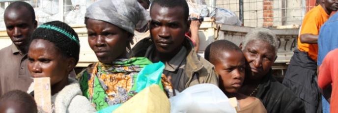 La situación de los campos de refugiados de Congo