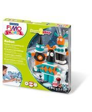 Staedtler Fimo Form & Play robotit 4 x 42 g askartelumassa