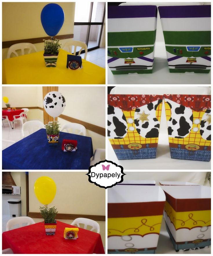 Dypapely Mimos Personalizados: Festa do Toy Story 3!