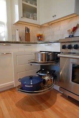 Need this Lemans corner sliding drawer for hard to reach appliances