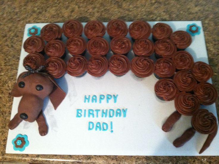 Weenie Dog Cupcakes Cakes Dog Cupcakes Cupcake Cakes