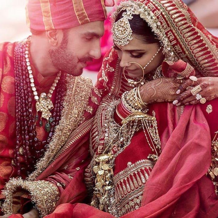 Deepika Posted Her Marriage Pic Bollywood Wedding Deepika Ranveer Indian Wedding Photography