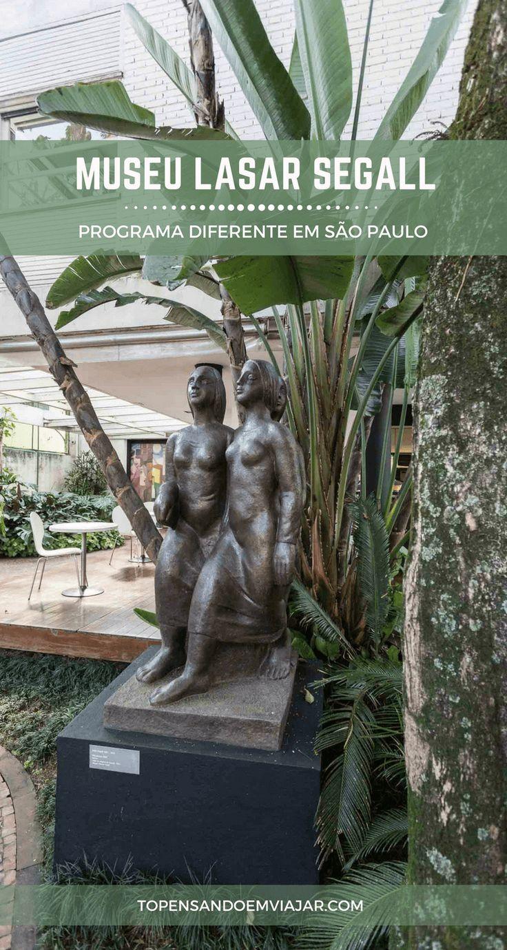 Você já pensou em visitar o Museu Lasar Segall em SP? É uma ótima opção pros amantes das artes, ou pra quem quer conhecer mais sobre esse artista incrível!