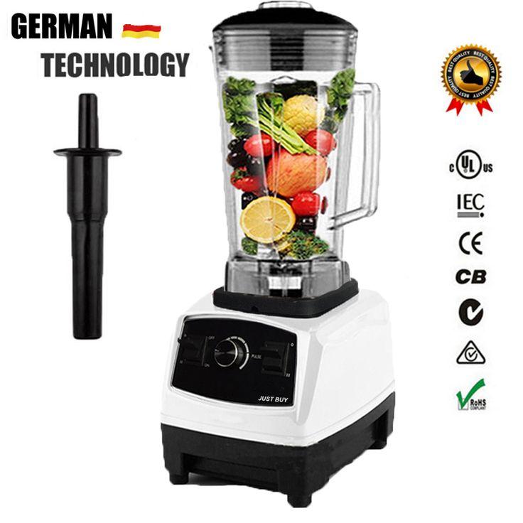Euus plug g5200 bpa free 3hp 2200w commercial blender