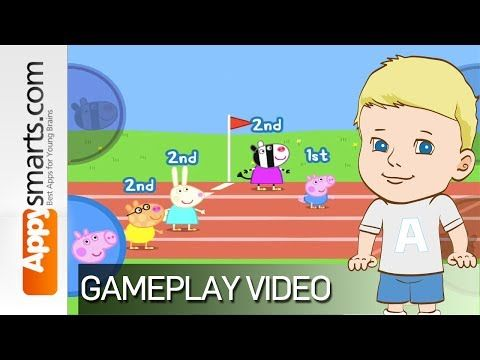 Peppa Pig's Sports Day by P2 Games - video review and gameplay - YouTube