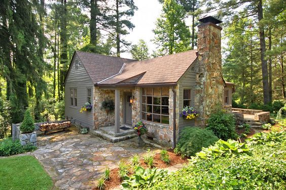 17 best ideas about cute little houses on pinterest cute for Piani casa micro cottage