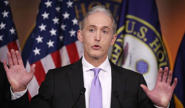 Gowdy: Clinton Erased Emails So Meticulously 'Even God Can't Read Them'