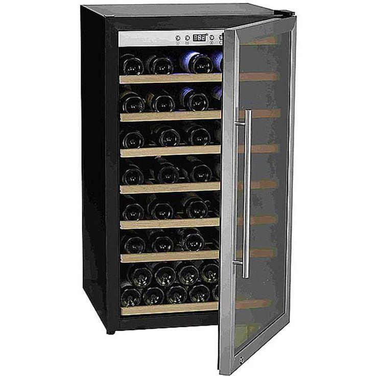 #винный #холодильник #Cavanova CV075 Цена 137 400 рублей В винном шкафу Cavanova CV075 можно держать огромное количество бутылок вина. Благодаря компрессорной системе можно быть уверенным в прекрасной сохранности вашего вина в любых условиях, а эргономичный дизайн позволит использовать минимальное пространство для хранения ваших любимых напитков. Купить  http://shop.webdiz.com.ua/goods/vinnyj-holodilnik-cavanova-cv075/
