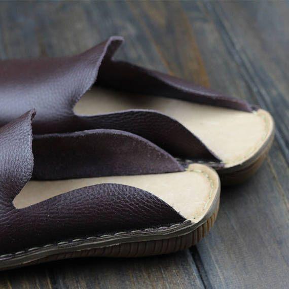 Hecho a mano zapatillas zapatos para mujer, verano zapatos, sandalia, deslizador de cuero, zapatos Simple, zapatos planos, zapatos Oxford  Zapatos más: https://www.etsy.com/shop/HerHis?ref=shopsection_shophome_leftnav  ♥♥♥♥♥♥If no sabes que tamaño tiene que elegir, por favor me diga la