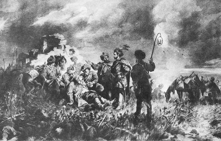 Spotkanie Skrzetuskiego z Chmielnickim na Dzikich Polach  1885.