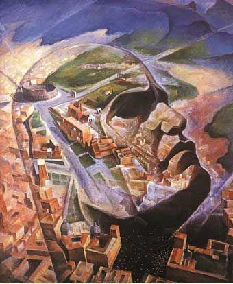 Mussolini Aviatore - G.Ambrosio - Sorge dallo sventramento di un quartiere per la costruzione di Via dell'Impero