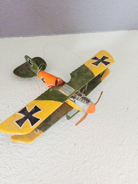 Modèle avion biplan allemand Albatros D3 jouet modèle avion
