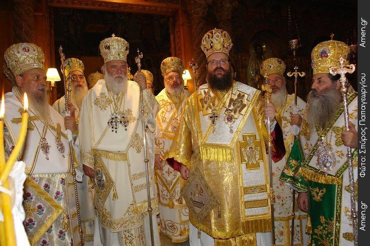 Συγκίνηση στη Χειροτονία του Μητροπολίτη Μεγάρων και Σαλαμίνος Κωνσταντίνου (ΦΩΤΟ) | Amen.gr - Πύλη Εκκλησιαστικών Ειδήσεων