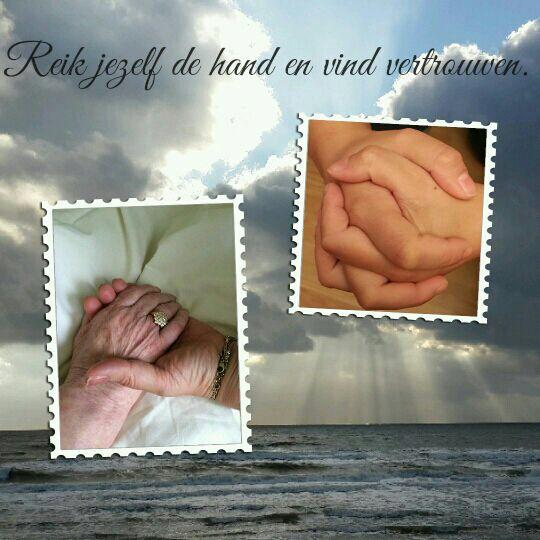 Sleutel 3: Reik jezelf de hand en vind vertrouwen