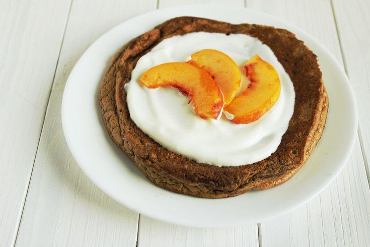 Dietetyczny omlet czekoladowy
