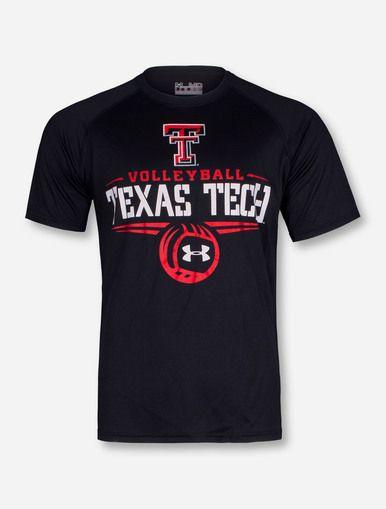 Under Armour Texas Tech Volleyball Black T-Shirt