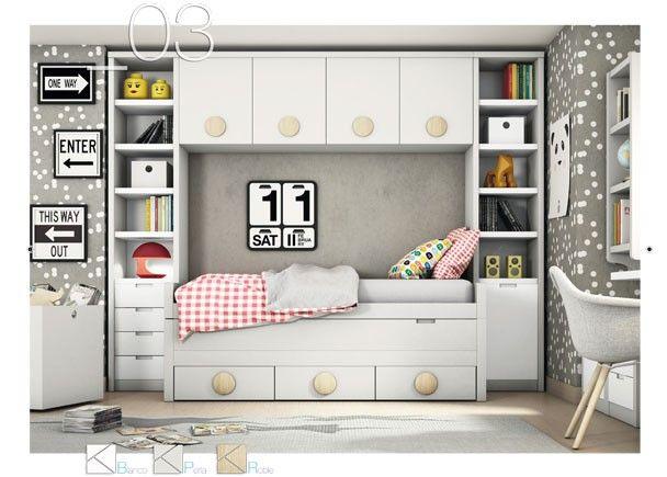 Las 25 mejores ideas sobre cama bicama en pinterest for Habitaciones juveniles cama 105