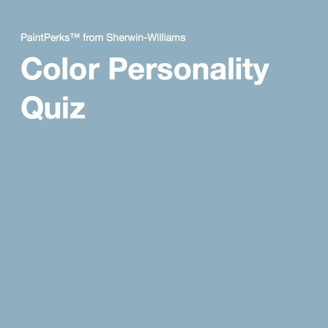 17 best images about color on pinterest house beautiful - Interior design quiz personality ...