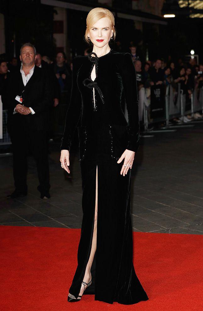 Николь Кидман в платье Armani Privé на показе фильма «Лев» на 60-м кинофестивале BFI в Лондоне